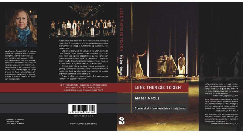 Mater Nexus Lene Therese Teigen lansering2021 omslag