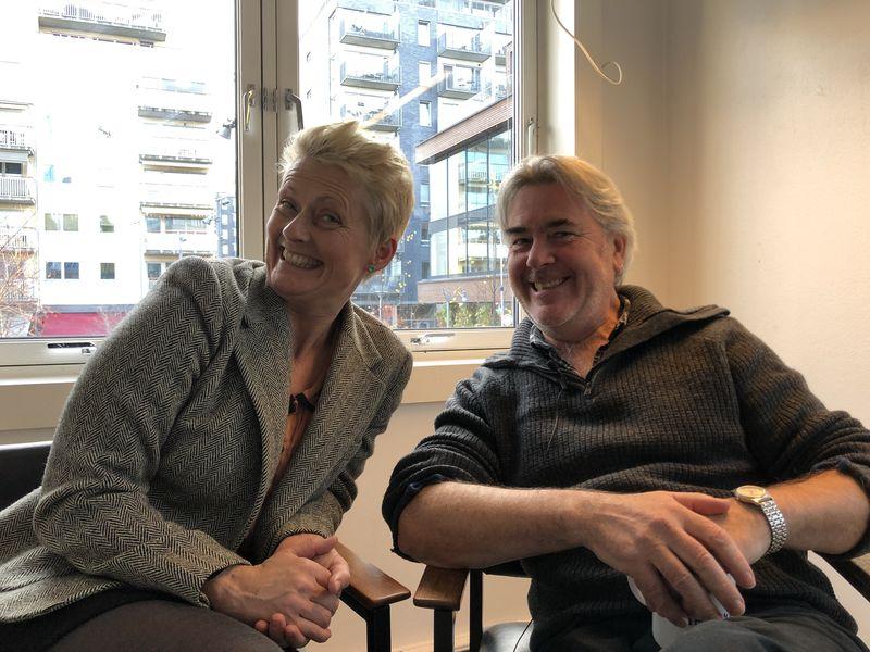 Line Rosvoll and Neil Howard photo Trine Kleven