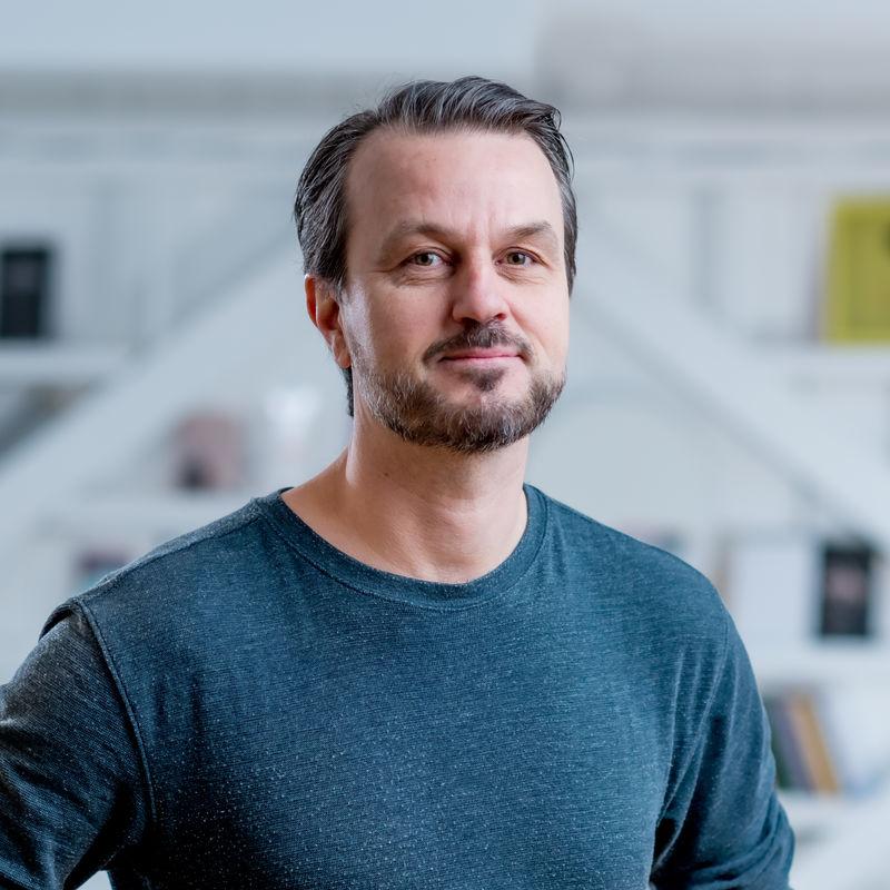 Ole Jørgen Løvås Dramatikkens Hus portrett